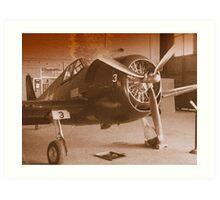 Planes Of Past #2 Art Print