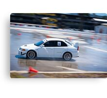 Mitsubishi EVO - Wetpan Canvas Print
