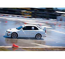 Mitsubishi EVO - Wetpan Photographic Print