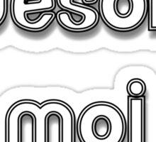 Awesome Moi Sticker