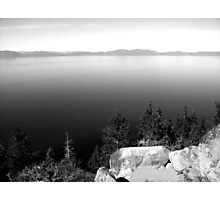 Black And White Landscape 15  Photographic Print