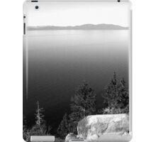 Black And White Landscape 15  iPad Case/Skin