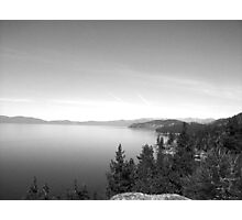 Black And White Landscape 16  Photographic Print