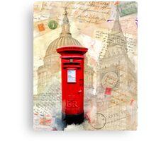 Classic British Postbox Canvas Print
