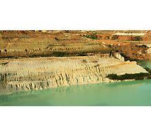 Old Kaolin Mine Photographic Print