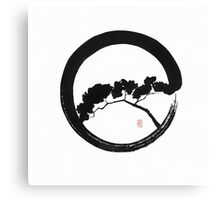 Tree Enso Canvas Print