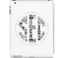 SEC with Logos iPad Case/Skin
