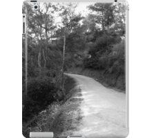 Black And White Landscape 18 iPad Case/Skin