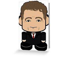 Rand Paul Politico'bot Toy Robot 1.0 Greeting Card