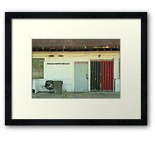 Night Clubbing Framed Print