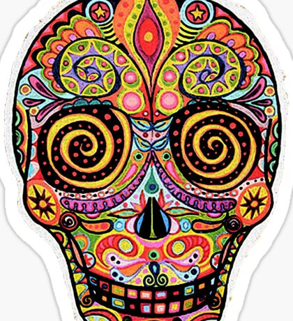 Day of the dead Sticker