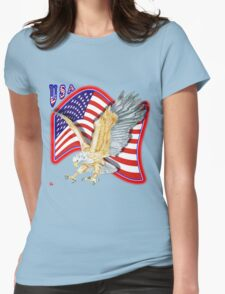 PATRIOTISM / USA Womens Fitted T-Shirt