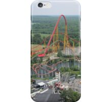 Volcano: The Blast Coaster, Kings Dominion iPhone Case/Skin