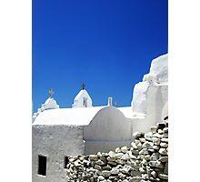 Greek Architecture Photographic Print