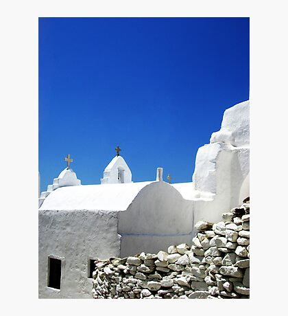 Greek Architecture Photographic Print