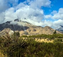 Clouds over Southern Alps #1 by Roger Neal