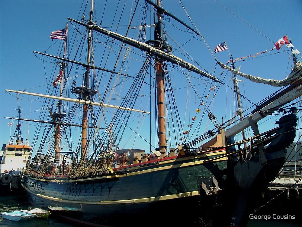 H.M.S.Bounty,Halifax by George Cousins