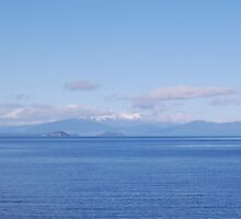Lake Taupo, New Zealand by Corrie Wharton
