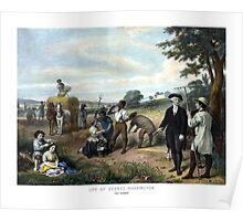 George Washington The Farmer Poster