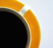 Black Coffee - Yellow Plate III by RobertCharles