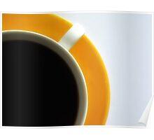 Black Coffee - Yellow Plate III Poster