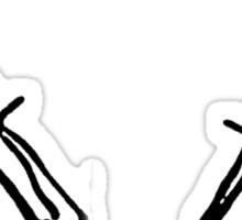Twin Daggers Sticker