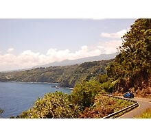 Maui drive Photographic Print