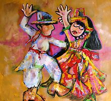 Folklorico Dancers by Reynaldo