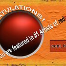 #1 Artists on Red Bubble by Richard Barker