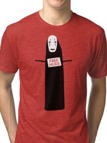 Free Hugs No Face Tri-blend T-Shirt