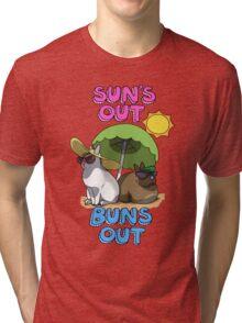 Sun's Out Buns Out Tri-blend T-Shirt