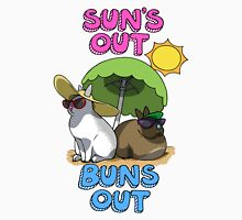 Sun's Out Buns Out Unisex T-Shirt