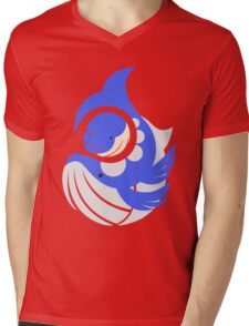 Giants of the Deep -  Wailmer & Wailord Mens V-Neck T-Shirt