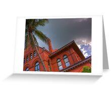 Key West Custom House Greeting Card