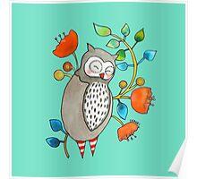eli the owl Poster