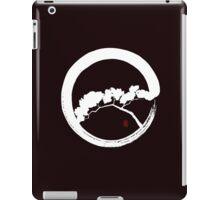 Tree Enso Whte iPad Case/Skin