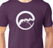 Tree Enso Whte Unisex T-Shirt