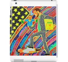 The Man Stepping On The Little Guy iPad Case/Skin
