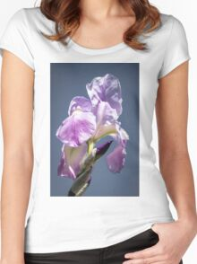 A Sky Full of Iris Women's Fitted Scoop T-Shirt