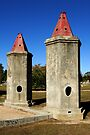 Chinese Burning Towers - Beechworth by Darren Stones