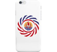 French Polynesian American Multinational Patriot Flag Series iPhone Case/Skin