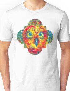 quatrefoil owl Unisex T-Shirt
