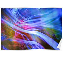 Heliconia Wind Poster