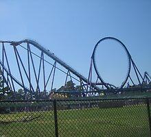 Medusa, Six Flags Discovery Kingdom by coasterfan94