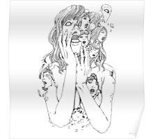 Shintaro Kago / Flying Lotus - You're Dead Poster