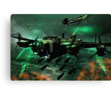 Lancaster Assault Canvas Print