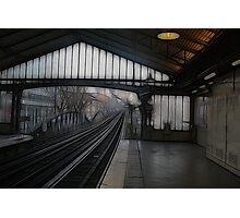 Quai de la Gare Photographic Print
