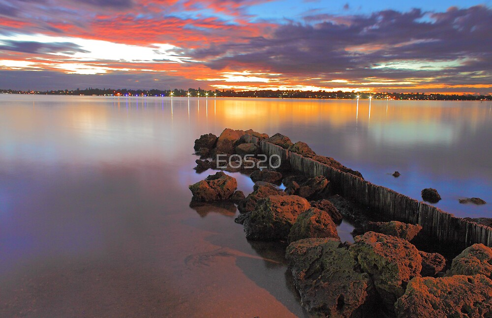 Swan River Sunset  by EOS20
