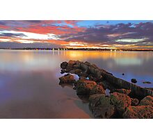 Swan River Sunset  Photographic Print