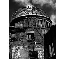 The A Dome and the twisted girder Photographic Print
